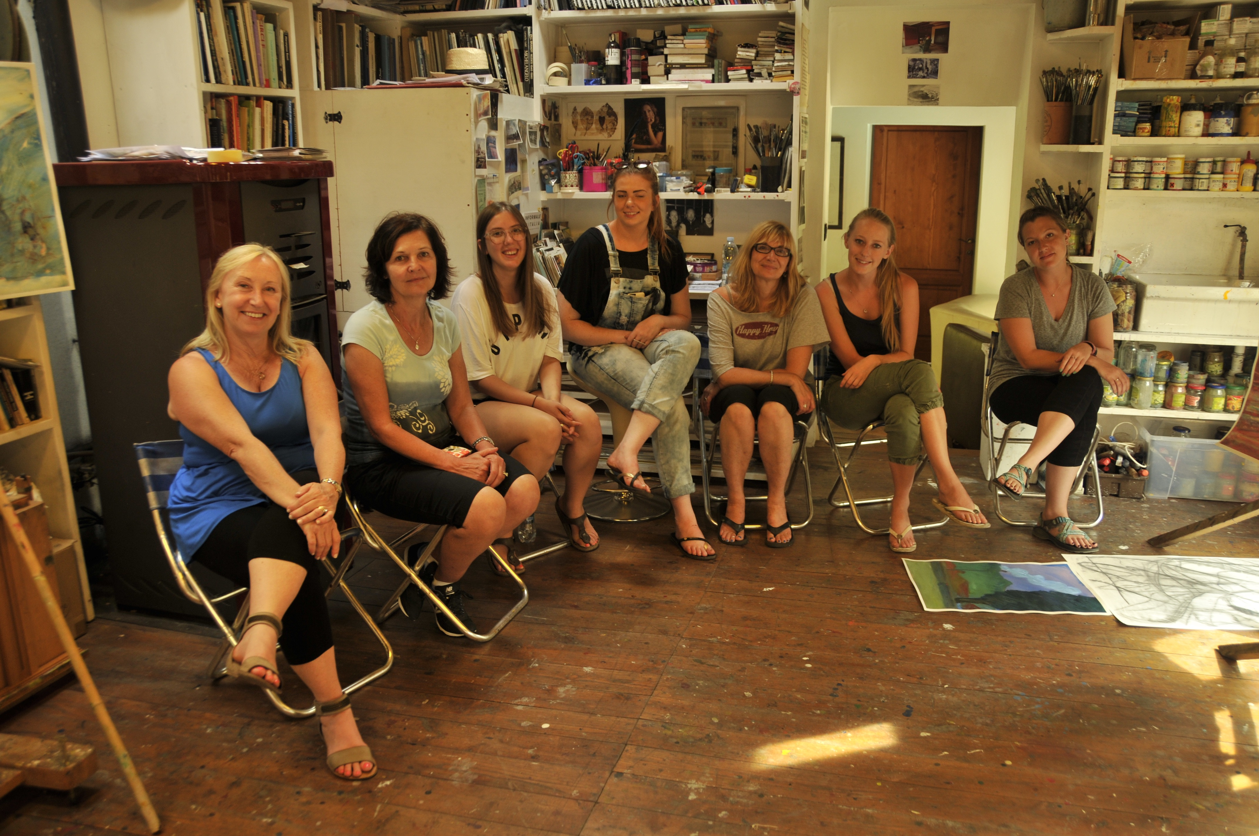 Art course holidays in Tuscany