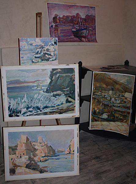 Painting holidays in Sicily