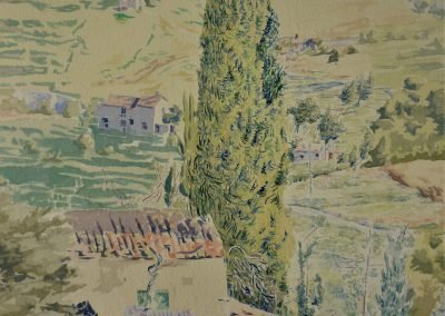 barga watercolour